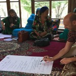 Participants define the method's name in Tajikistan